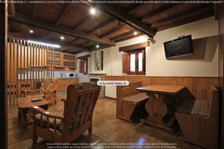 Casa de aldea la Casina de la Arquera - Salón cocina