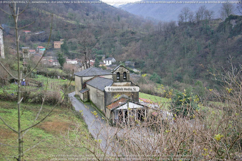 Fotografía de Santibañez de Murias en Aller. Asturias. España.