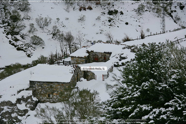 Fotografía de Puerto San Isidro en Aller. Asturias. España.