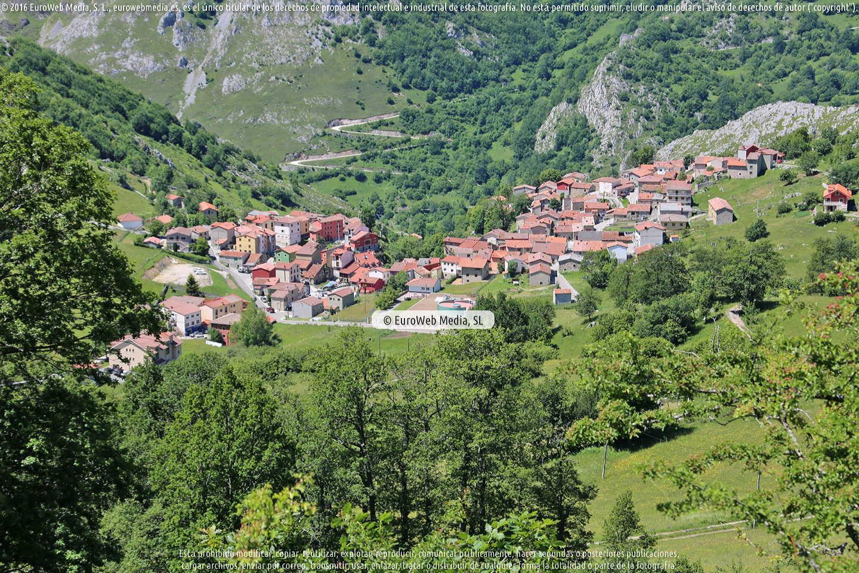 Fotografía de Sotres en Cabrales. Asturias. España.