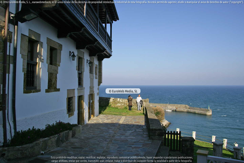 Fotografía de Lastres en Colunga. Asturias. España.