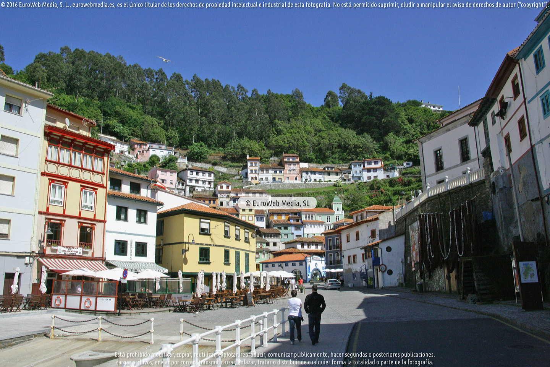 Fotografía de Cudillero en Cudillero. Asturias. España.