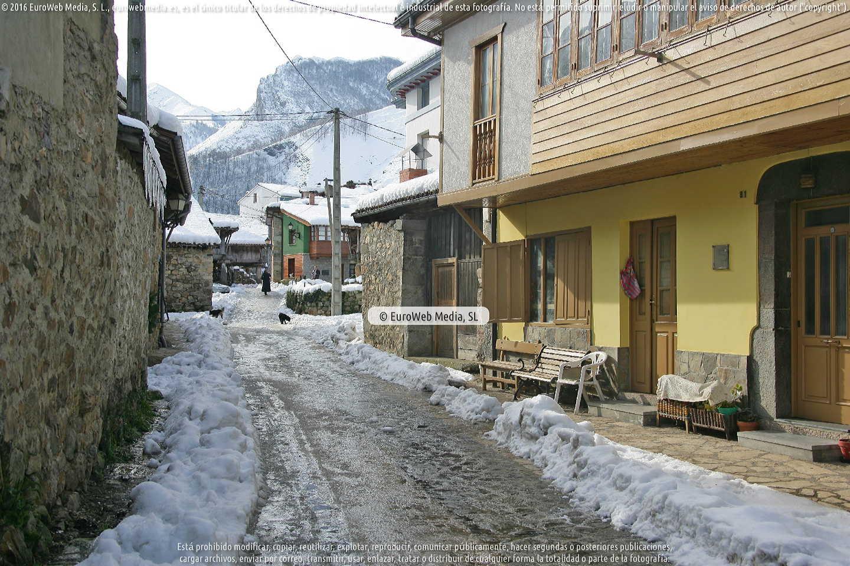 Fotografía de Soto de Agues en Sobrescobio. Asturias. España.