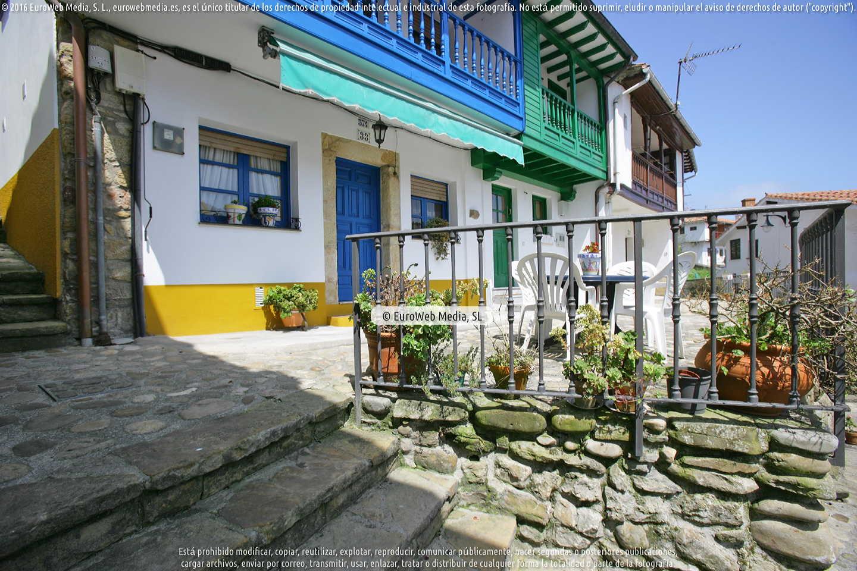 Fotografía de San Roque en Villaviciosa. Asturias. España.