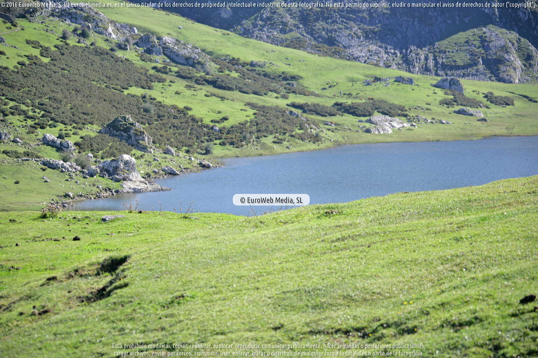 Fotografía de Lagos de Covadonga en Cangas de Onís. Asturias. España.