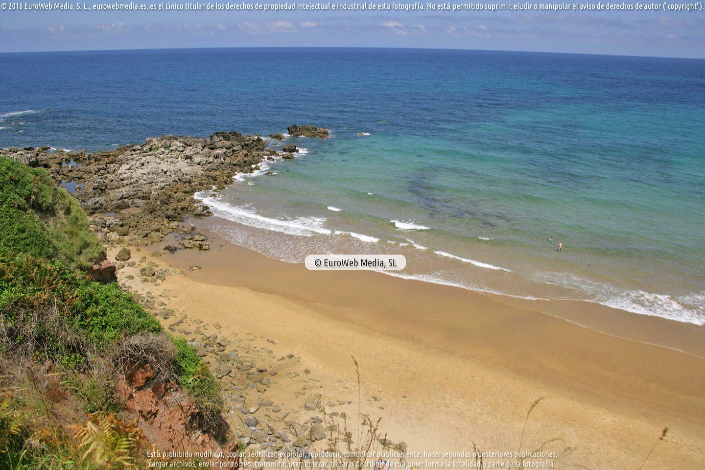 Fotografía de Playa Arenal de Morís en Caravia. Asturias. España.