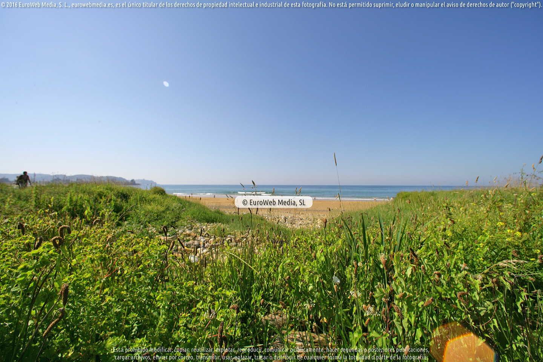 Fotografía de Playa La Espasa en Caravia. Asturias. España.