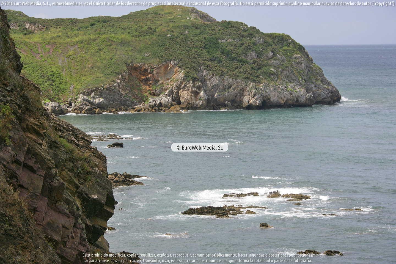 Fotografía de Playa de El Tranqueru en Carreño. Asturias. España.