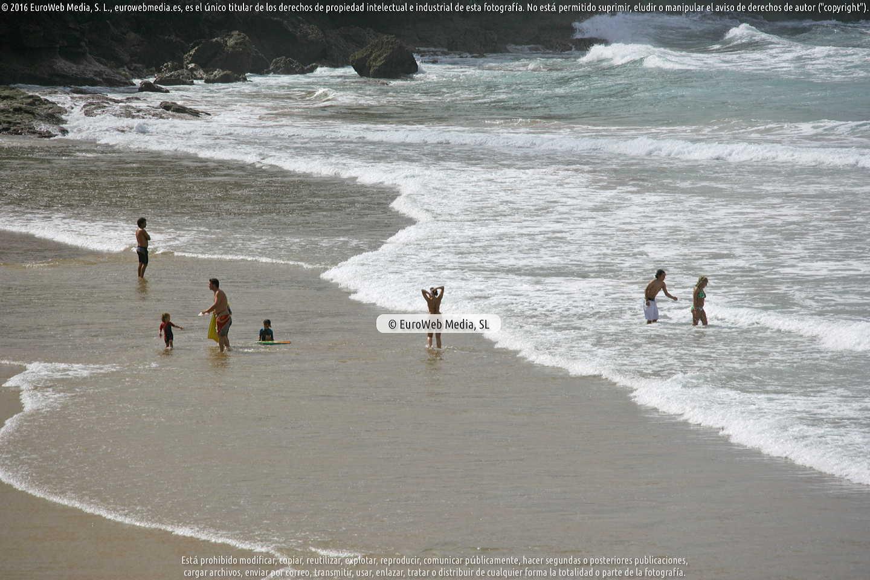 Fotografía de Playa Xivares en Carreño. Asturias. España.