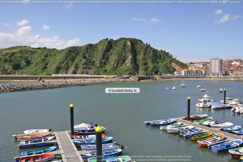 Fotografía de Puerto de Candás en Carreño. Asturias. España.