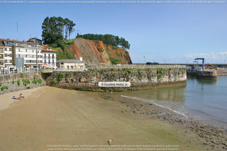 Fotografía de Playa de Candás en Carreño. Asturias. España.