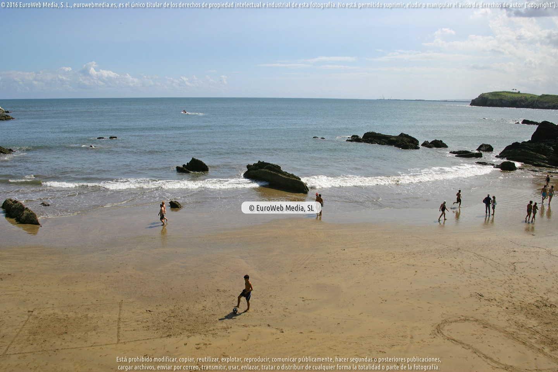 Fotografía de Playa de La Palmera en Carreño. Asturias. España.