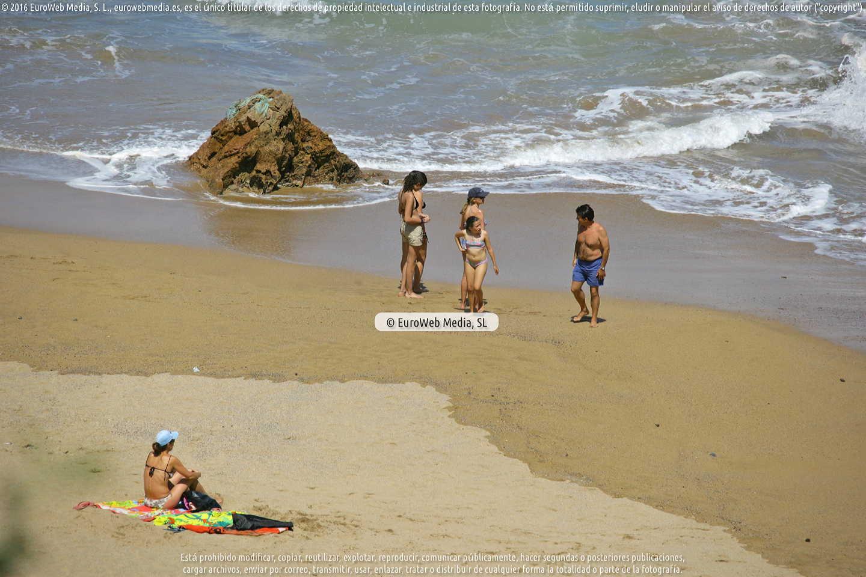 Fotografía de Playa de Carranques en Carreño. Asturias. España.