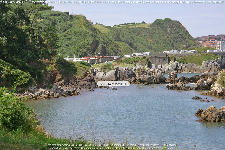 Fotografía de Playa de Huelgues en Carreño. Asturias. España.