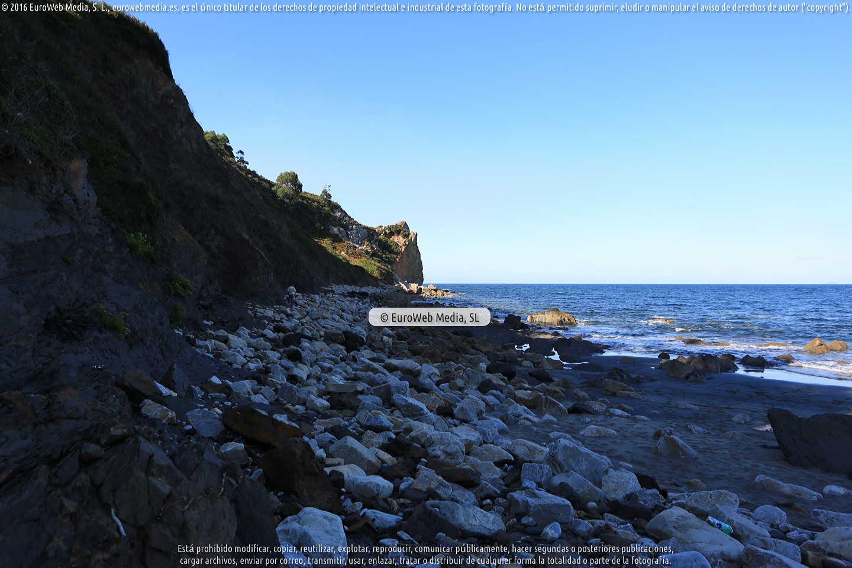 Fotografía de Playa de Munielles en Castrillón. Asturias. España.