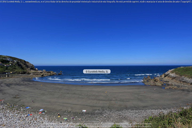 Fotografía de Playa Arnao (Castrillón) en Castrillón. Asturias. España.