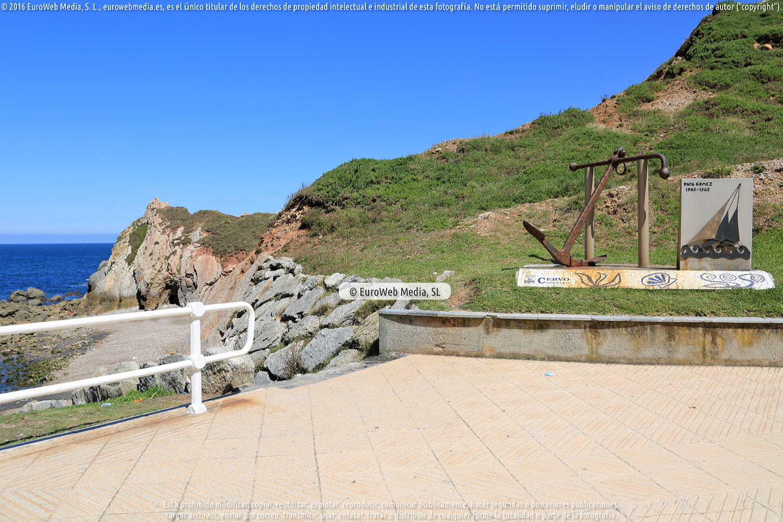 Fotografía de Playa de El Cuerno en Castrillón. Asturias. España.