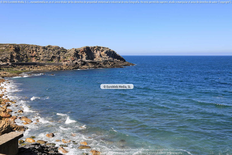 Fotografía de Playa de El Dólar en Castrillón. Asturias. España.