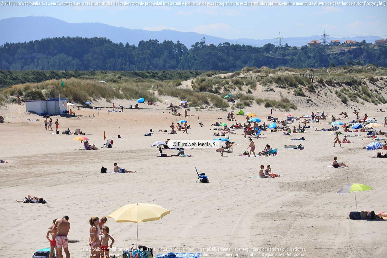 Fotografía de Playa Espartal - San Juan de Nieva en Castrillón. Asturias. España.