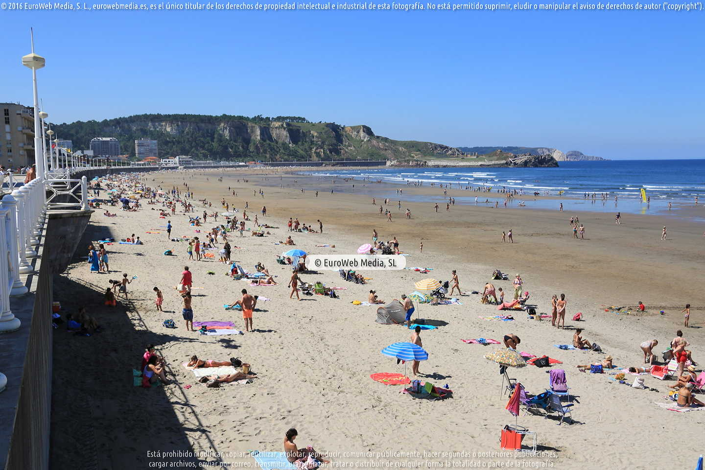 Fotografía de Playa Salinas (Castrillón) en Castrillón. Asturias. España.