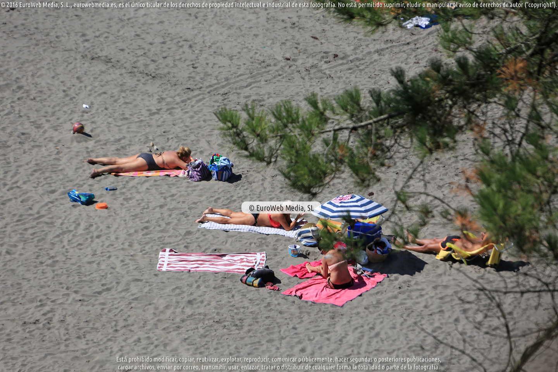 Fotografía de Playa Santa María del Mar en Castrillón. Asturias. España.