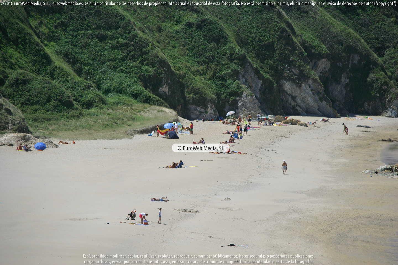 Fotografía de Playa Penarronda (Castropol) en Castropol. Asturias. España.