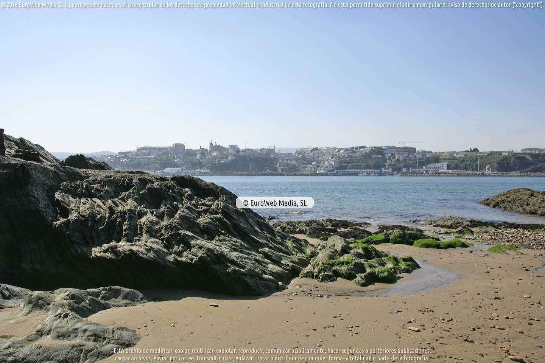 Fotografía de Playa de Figueras - San Román en Castropol. Asturias. España.