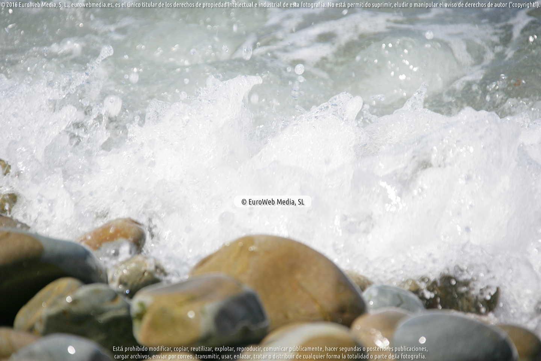 Fotografía de Playa de Armazá en Coaña. Asturias. España.
