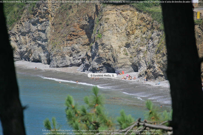 Fotografía de Playa Torbas (Coaña) en Coaña. Asturias. España.