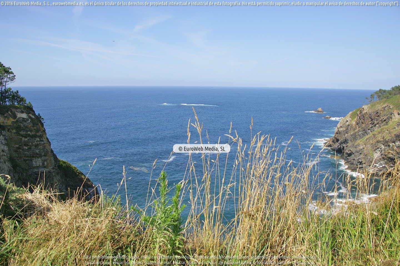 Fotografía de Playa de Collé en Coaña. Asturias. España.