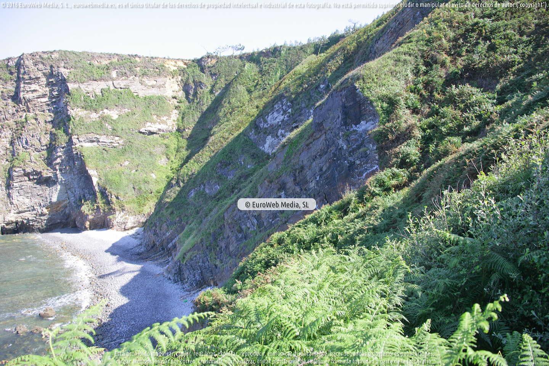Fotografía de Playa de La Coba en Coaña. Asturias. España.