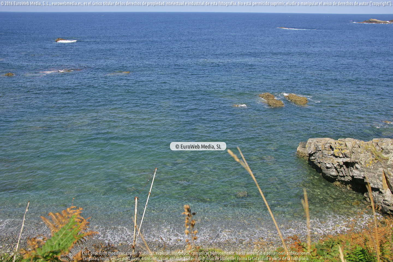 Fotografía de Playa de Pedreyada en Coaña. Asturias. España.