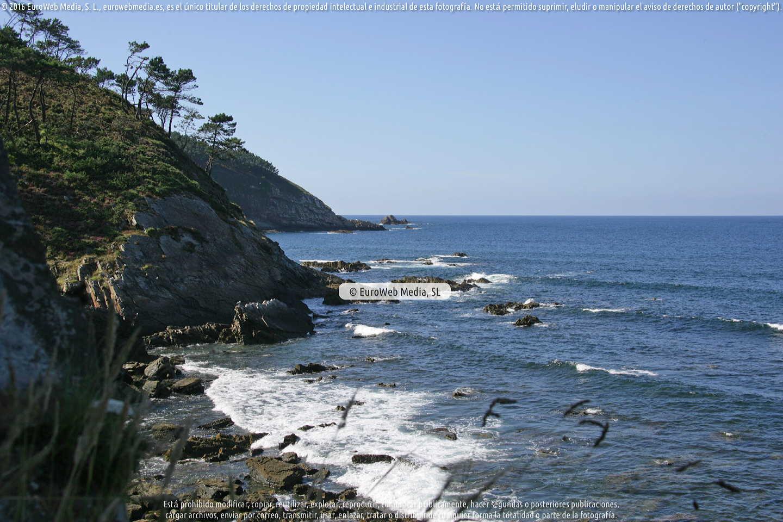 Fotografía de Playa de La Figueira en Coaña. Asturias. España.