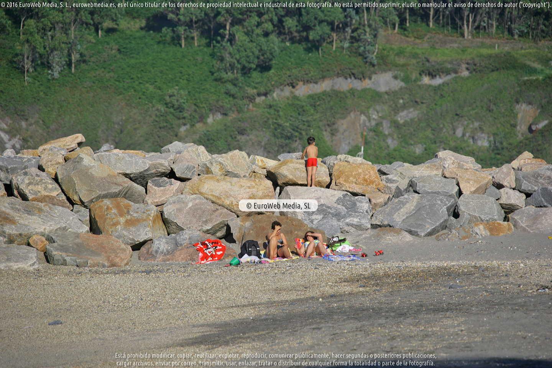 Fotografía de Playa de Foxos en Coaña. Asturias. España.