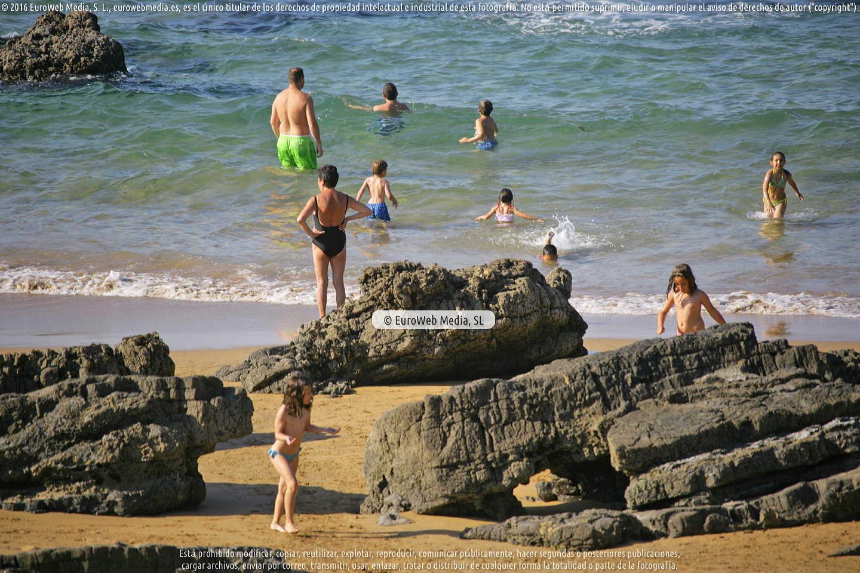 Fotografía de Playa Barrigón en Colunga. Asturias. España.