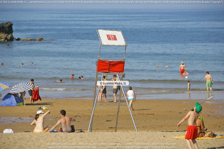 Fotografía de Playa La Isla en Colunga. Asturias. España.