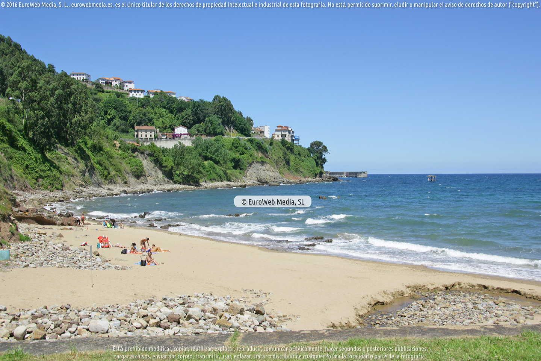 Fotografía de Playa de Lastres en Colunga. Asturias. España.