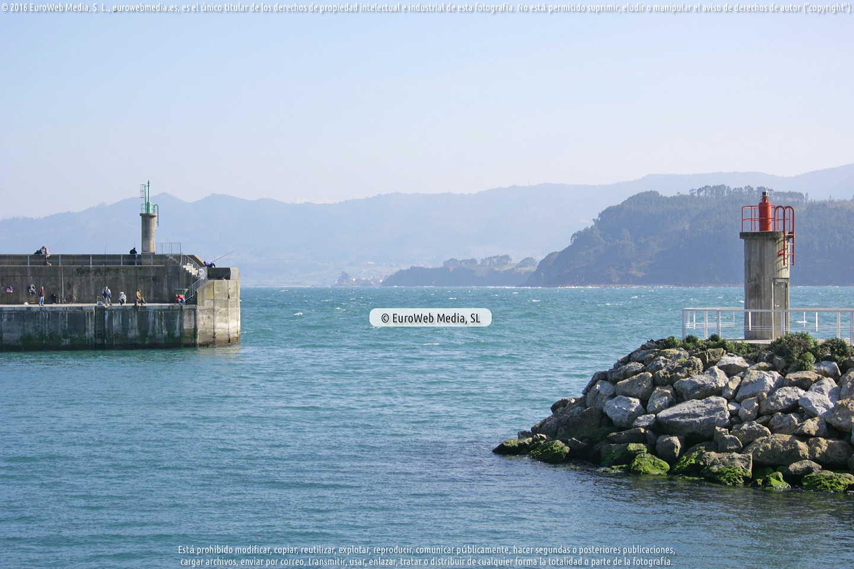 Fotografía de Puerto de Lastres en Colunga. Asturias. España.