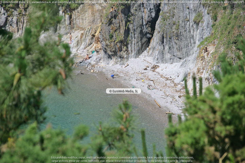 Fotografía de Playa Silencio - Gavieiro en Cudillero. Asturias. España.