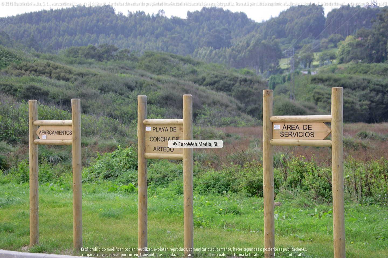 Fotografía de Playa La Concha de Artedo en Cudillero. Asturias. España.