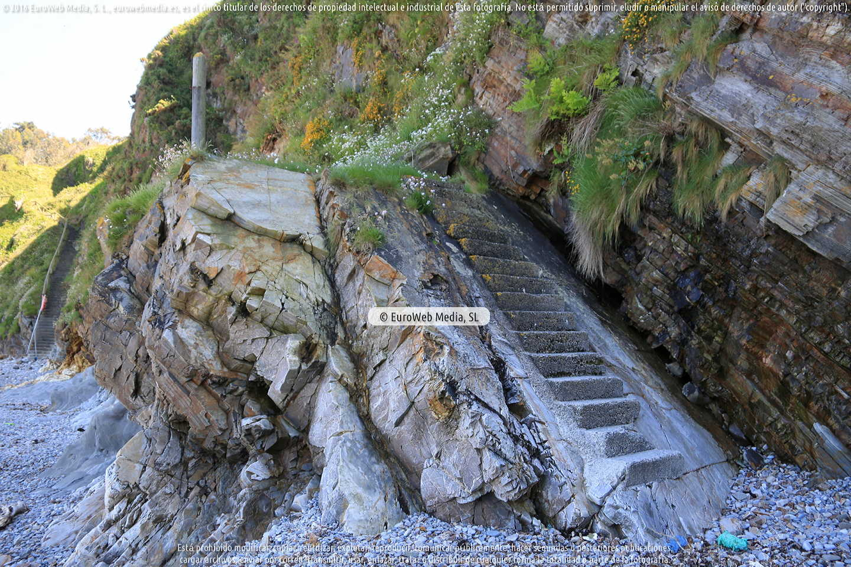Fotografía de Playa de Cambaredo en El Franco. Asturias. España.