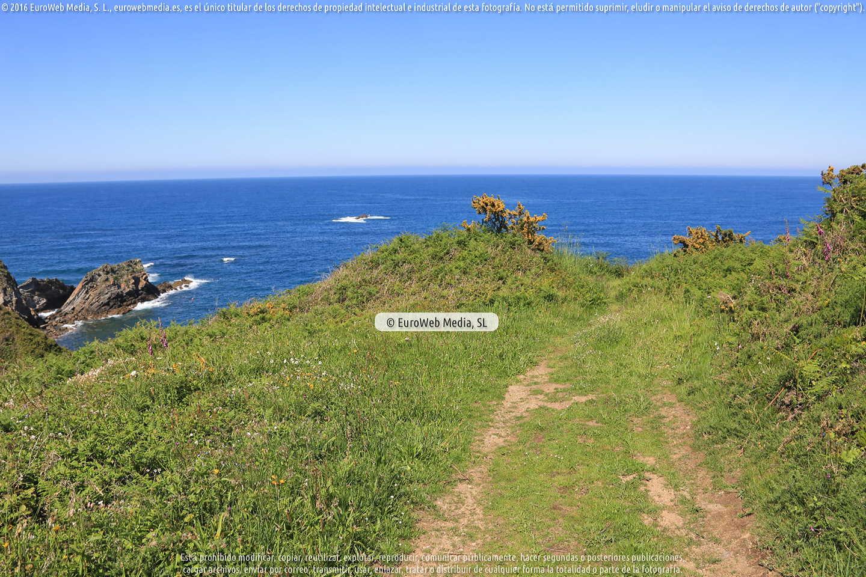 Fotografía de Playa de Riboira en El Franco. Asturias. España.