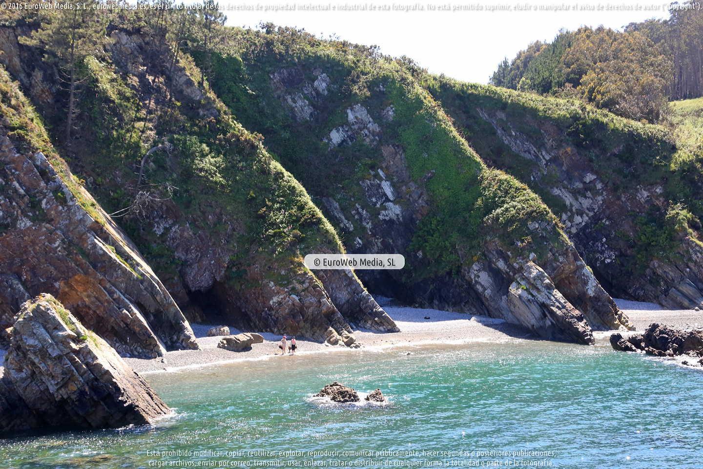 Fotografía de Playa de Pormenande en El Franco. Asturias. España.