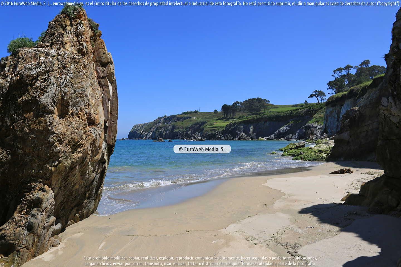 Fotografía de Playa de Porcía (El Franco) en El Franco. Asturias. España.
