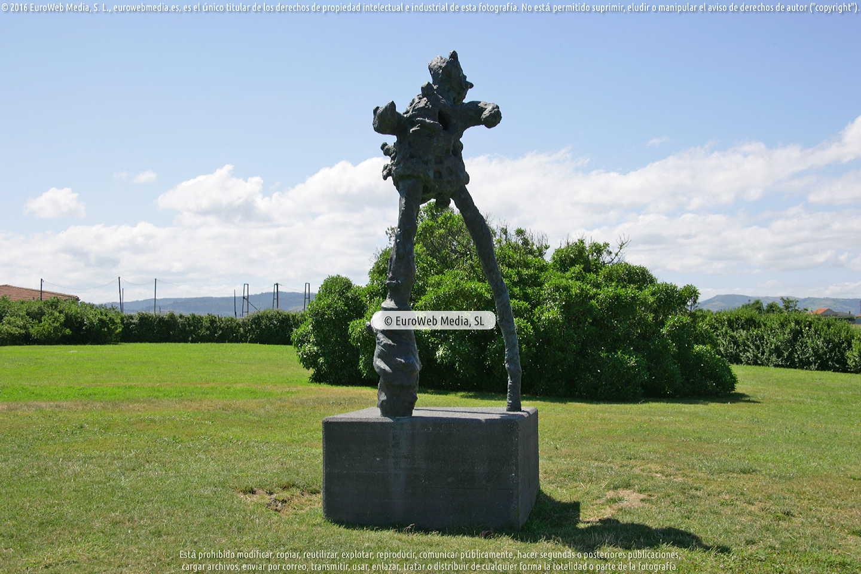 Fotografía de Escultura «Paisaje germinador» en Gijón. Asturias. España.