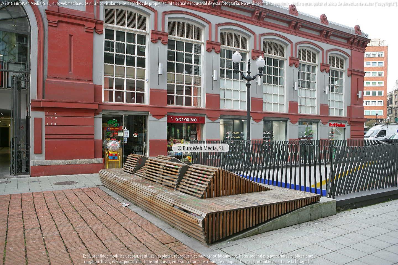 Fotografía de Mercado del Sur en Gijón. Asturias. España.