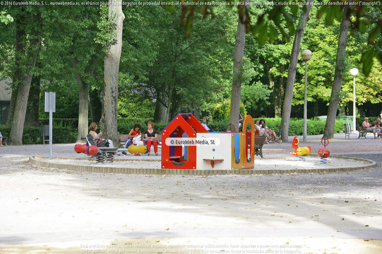Fotografía de Parque de Isabel la Católica en Gijón. Asturias. España.