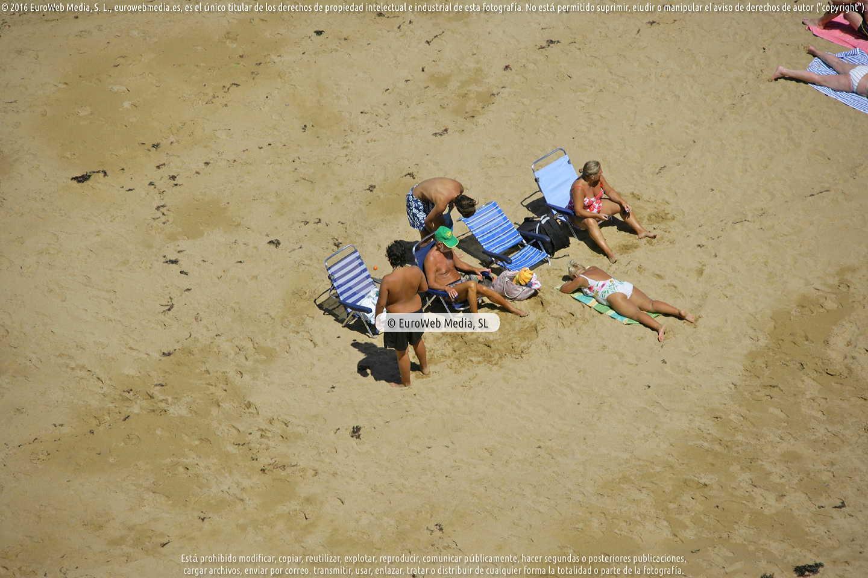 Fotografía de Playa La Ñora (Gijón) en Gijón. Asturias. España.