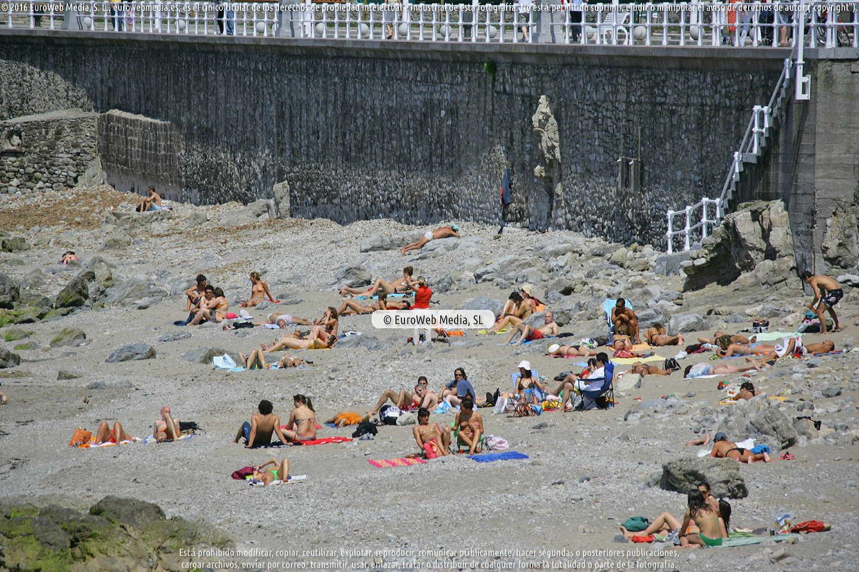 Fotografía de Playa de los Mayanes en Gijón. Asturias. España.