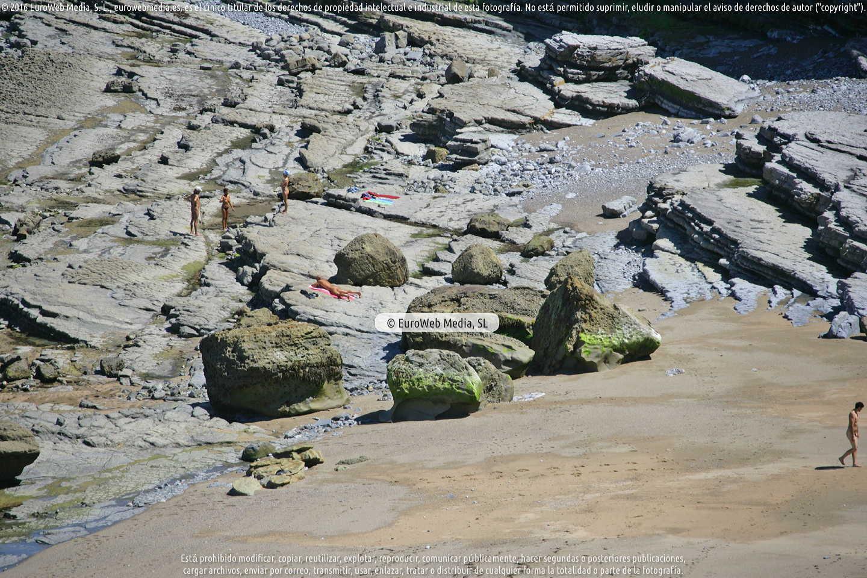 Fotografía de Playa Peñarrubia en Gijón. Asturias. España.